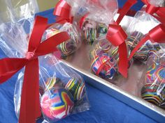 """Party Favors - Add a note that says """"I hope you had a ball at my birthday party."""""""