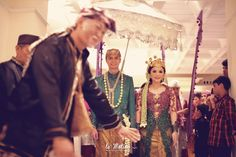 """""""Ki Lengser"""" is an iconic character in Sundanese wedding procession. He has the role of wedding councelor/advisor of with a funny way.."""