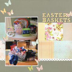 Easter Baskets - Scrapbook.com