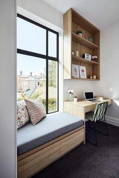 Room Design Bedroom, Bedroom Furniture Design, Home Room Design, Home Decor Furniture, Home Decor Bedroom, House Design, Study Room Design, Design Kitchen, Office Interior Design