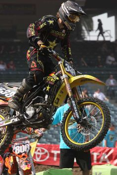 Rockstar Suzuki In for AMA Outdoor Title Chase in Motocross Championship Series http://www.knfilters.com/news/news.aspx?ID=254