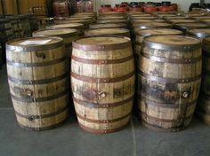 Wood Barrels - Whiskey Barrels - Wine Barrels - Real Kentucky Whiskey Barrels