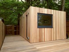 Office In My Garden is a bespoke Garden Room Company based in North London specialsing in the construction of Garden Rooms, Garden Offices and Summerhouses Shed Office, Garden Office, Home Pub, Outdoor Rooms, Outdoor Decor, Container Architecture, Garden Studio, Shed Design, Garden Buildings