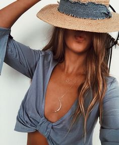 Crops and dainty jewelry