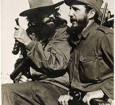Cienfuegos and Castro. Luis Korda. January 8, 1959.