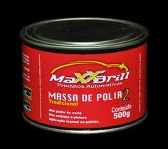#MaxxBrill #Produtos #Automotivos #Massa #Polir #N°2 #Tradicional #Carros #Automóveis #Polimento #Abrasivos #MaxxPolidores