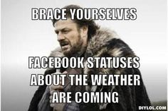 crazy weather meme