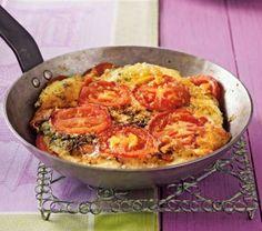 Das Rezept für Tomaten-Mozzarella-Omelett und weitere kostenlose Rezepte auf LECKER.de