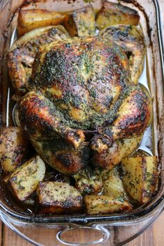 Chicken with chimichurri