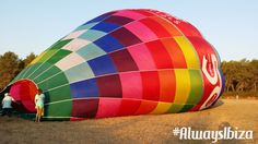Viaje en Globo www.alwaysibiza.com