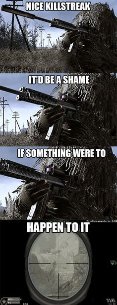 11 Jokes Only Call Of Duty Fans Will Get is part of Funny games - You know who you are The wait's finally over for the most actionpacked part of your year Call of Duty® Advanced Warfare, get your copy today Video Game Logic, Video Games Funny, Funny Games, Playstation, Xbox, Gamer Humor, Gaming Memes, Gaming Girl, Gamer Girls