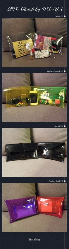 DIY PVC Clutch by WINYA