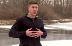 Hero Teen Leaps Into Action to Save Dog From Frozen Pond