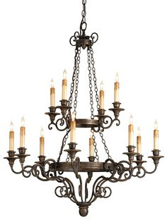 Galleon Chandelier by Currey and Company   Vintage Inspired Lightning