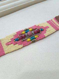 Handmade needle woven bracelet