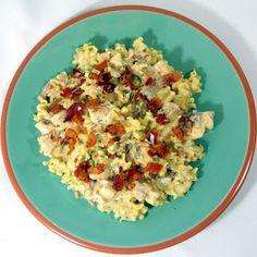 Inspired By eRecipeCards: Rotisserie Chicken Ranch Pasta Dinner - 10 MINUTES