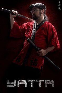 Yatta The Red Samurai