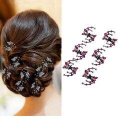 Pearl Headpiece, Pearl Hair, Hair Accessories For Women, Wedding Hair Accessories, Twist Hairstyles, Wedding Hairstyles, Acrylic Plastic, Claw Clip, Hair Claw