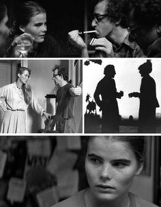 All of Woody Allen's female characters from his 1979 film, Manhattan....Mary (Diane Keaton), Tracy (Mariel Hemingway) and Jill (Meryl Streep)...