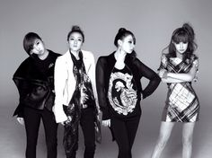 Free 2NE1 Black and White Dekstop Background Pictures collection. Download all 2NE1 Wallpaper HD quality.
