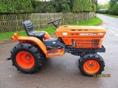 Kubota Compact Tractor, Compact Tractors, Kids Motorcycle, Kubota Tractors, Horsemen Of The Apocalypse, Train Truck, Classic Tractor, Mini Farm, Farm Gardens