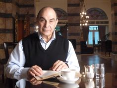 Lovely human being.  David Suchet.