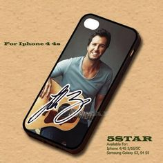 Fashion Luke Bryan Hard PC Case Cover for Iphone Iphone5 and 5s | 5STAR - Accessories on ArtFire