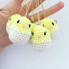Crochet tech tips on shaping Amigurumi. Cones of various shapes based on the number of increases per round. Easter Crochet, Diy Crochet, Crochet Baby, Easter Projects, Easter Crafts, Crochet Keychain, Tunisian Crochet, Crochet Basics, Amigurumi Doll
