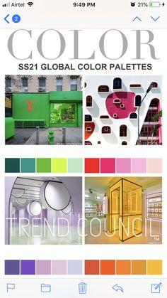 Trend Council, Fashion 2020, Fashion Trends, Color Studies, Silver Surfer, Home Trends, Season Colors, Color Pallets, Color Trends