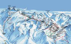 les Deux alpes- where I skied!