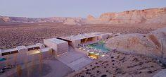 Luxury Lake Powell Resort Photos - Amangiri Resort and Spa - Utah Amangiri Hotel, Amangiri Resort Utah, Utah Resorts, Hotels And Resorts, Best Hotels, Canyon Point Utah, Lake Powell Utah, Desert Resort, Hotel Pool