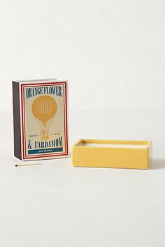 Matchbox Candle - anthropologie.com. Other colors and fragrances available.