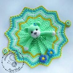 Crochet Cow, Crochet Lovey, Crochet Baby Toys, Crochet Gifts, Crochet Dolls, Crochet Security Blanket, Crochet Ripple Blanket, Crochet Blanket Patterns, Amigurumi Patterns