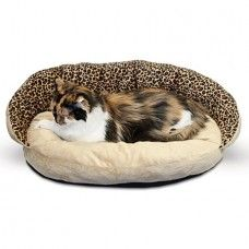 This is for the pet that loves plush fleece and the comfort of a bolster bed. ""