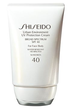Shiseido 'Urban Environment' UV Protection Cream SPF 40 | Nordstrom