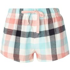 Dorothy Perkins Bunny Check Pyjama Shorts (785 RUB) ❤ liked on Polyvore featuring intimates, sleepwear, pajamas, shorts, pink, bunny pajamas, dorothy perkins, pink bunny pajamas, cotton sleepwear and cotton pjs