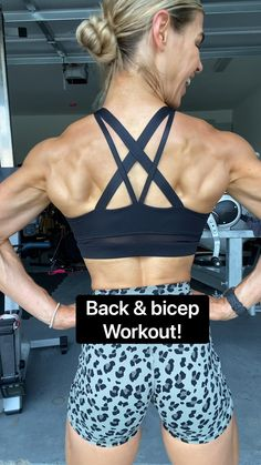 Bar Workout, Dumbbell Workout, Fitness Workout For Women, Fitness Tips, Over 50 Fitness, Workout Videos, Workout Routines, Cheer Workouts, Weight Training Workouts