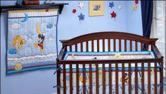 mickey mouse pluto nursery theme bedding set crib pictures