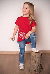 Detské oblečenie - Červená tunika - folk dievča - 9052553_ #detskamoda#jedinecnesaty#handmade#originalne#slovakia#slovenskydizajn#móda#šaty#original#fashion#dress#modre#ornamental#stripe#dresses#vyrobenenaslovensku#children#fashion#rucnemalovane#folk Folk, T Shirt, Women, Fashion, Tunic, Supreme T Shirt, Moda, Tee Shirt, Popular