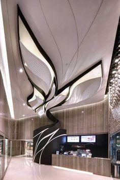 Interiors shop design boutique cinema_windsor by agc design_recity_magazine Architecture Design Concept, A As Architecture, Design Shop, Store Design, Design Design, Retail Interior, Home Interior, Interior And Exterior, Simple Interior