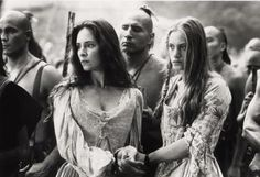 Madeleine Stowe & Jodhi May in The Last of the Mohicans (1992)