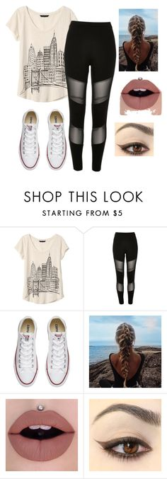 """""""Story Part 2: """"World I'm Ready"""""""" by honeyitsqueenbc on Polyvore featuring Banana Republic, River Island and Converse"""