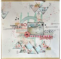 Tampon caoutchouc monté sur mousse - Denim Tampons - Souvenir de voyage