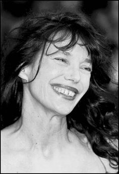 Jane Birkin. 62 and still so cool. (Well, she's not gray, but still looks fit and fab)