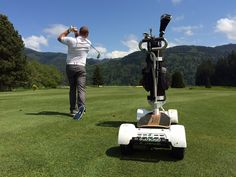 """""""Surf the Earth"""" on a Golfboard"""