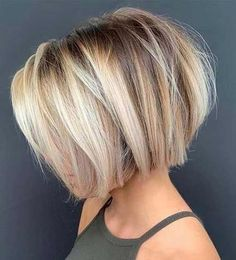 Short Bob Cuts for Stylish Ladies Short Bob Cut Source Dark Brown Short Bob Style for Women Short Blonde Bob Style Short Hairstyle Blonde Bob Haircut Fine Hair Straight Brown Hair Choppy Look Pixie Bob Continue Reading Short Hairstyles For Thick Hair, Layered Bob Hairstyles, Short Bob Haircuts, Hairstyles Haircuts, Curly Hair Styles, Teen Haircuts, Modern Bob Haircut, Modern Short Hairstyles, Blonde Bob Hairstyles