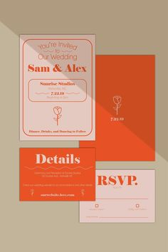 Hottest Pic Modern Rose Wedding Invitation Suite // DIY Wedding Invitation // Palm Springs Wedding Invitations // Summer Wedding Invitations Strategies Wedding Invitation Cards-Our Methods When the time of one's wedding is set and the Site is booked, Spring Wedding Invitations, Wedding Invitation Sets, Invitation Suite, Event Invitations, Invitation Wording, Graphic Wedding Invitations, Wedding Invitations Elegant Modern, Modern Wedding Stationery, Minimalist Wedding Invitations