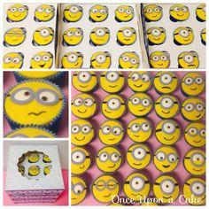 Banananaaa  Had lots of Fun making this Minion Cupcakes