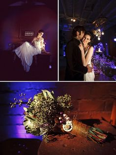 Steampunk meets Anthropologie industrial vintage wedding