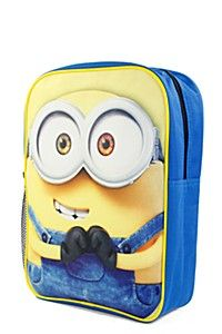 MINIONS BACKPACK Minion Backpack, Minions, Lunch Box, Backpacks, The Minions, Bento Box, Backpack, Minions Love, Backpacker